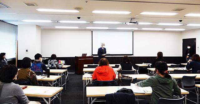 大阪会場第5編講座風景